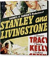 Stanley And Livingstone, Spencer Tracy Canvas Print
