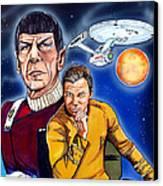 Star Trek Canvas Print by Dave Olsen