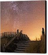 Stars In A Night Sky Canvas Print