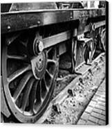 Steam Preserved Canvas Print by Jacqui Collett