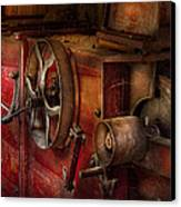 Steampunk - Gear - It Used To Work Canvas Print by Mike Savad