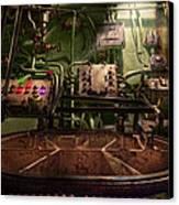 Steampunk - Naval - This Is Where I Do My Job Canvas Print