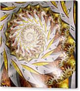 Steampunk - Spiral - Time Iris Canvas Print