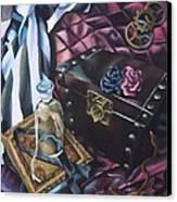 Steampunk Still Life Canvas Print by Lori Keilwitz
