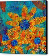 Stimuli Floral -s01t01 Canvas Print
