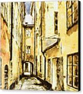 Stockholm Old City Canvas Print by Yury Malkov