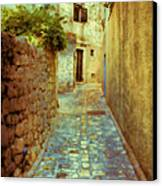 Stones And Walls Canvas Print by Jasna Buncic
