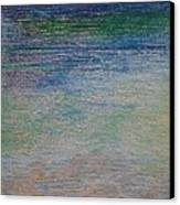 Stones By The Sea Canvas Print