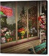 Store - Belvidere Nj - Fragrant Designs Canvas Print by Mike Savad