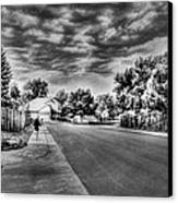 Storm Approaching Canvas Print by Sergio Aguayo