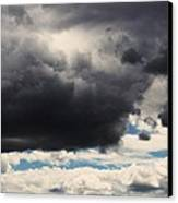 Storm Clouds-1 Canvas Print by Todd Sherlock