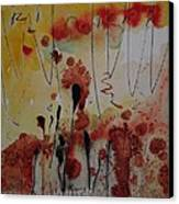 Straw And Seed Canvas Print