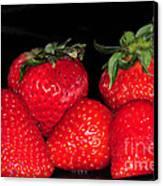 Strawberries Canvas Print by Paul Ward