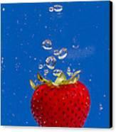 Strawberry Soda Dunk 6 Canvas Print