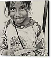 Street Child  Canvas Print