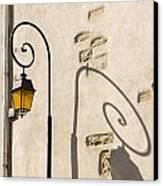 Street Lamp And Shadow Canvas Print by Igor Kislev