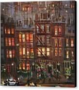 Street Life Canvas Print by Tom Shropshire