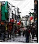 Streetlife Canvas Print by Steve K