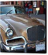 Studebaker Golden Hawk . 7d14179 Canvas Print by Wingsdomain Art and Photography