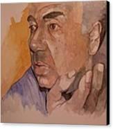 Study For Rev Joe Canvas Print by Ray Agius