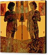 Study In Yellow Canvas Print by Ann Powell