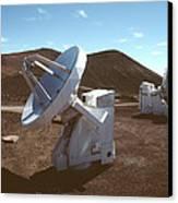 Submillimetre Array Telescopes Canvas Print
