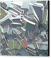 Sucrose Crystals, Sem Canvas Print by Steve Gschmeissner