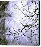 Sudden Snowstorm Canvas Print by Judi Bagwell