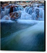 Summer Cascade Canvas Print