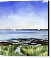 Summer Flats Canvas Print