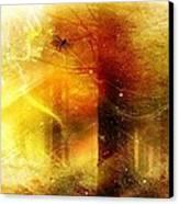 Summers Last Dragonfly Canvas Print by Gun Legler