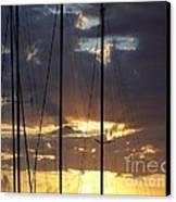 Sunlight - Ile De La Reunion Canvas Print by Francoise Leandre