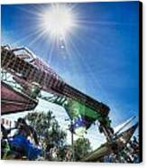 Sunny At The Fair Canvas Print by Dan Crosby