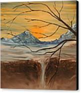 Sunrise End Canvas Print by Shadrach Ensor