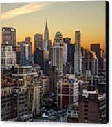 Sunrise In The City II Canvas Print