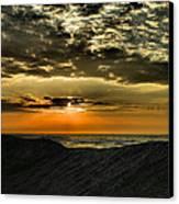 Sunrise Over Assateague II Canvas Print by Steven Ainsworth