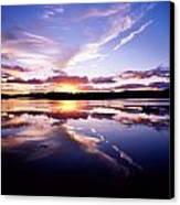 Sunset, Dinish Island Kenmare Bay Canvas Print
