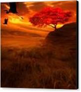 Sunset Duet Canvas Print