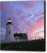 Sunset Tints The Sky Canvas Print by Stephen St. John
