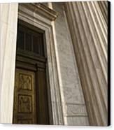 Supreme Court Entrance Canvas Print