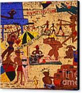 Surf City Canvas Print