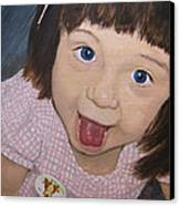 Surprise Canvas Print by Tanya Petruk