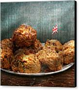 Sweet - Scone - Scones Anyone Canvas Print by Mike Savad