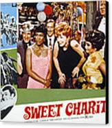 Sweet Charity, Paula Kelly, Shirley Canvas Print by Everett