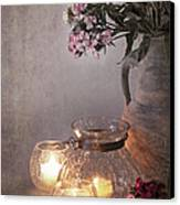 Sweet Williams Faded. Canvas Print by Jane Rix