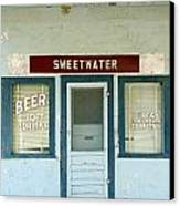 Sweetwater Store Canvas Print