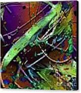 Swirls Number 2 Canvas Print by Doris Wood