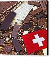 Swiss Chocolate Canvas Print by Joana Kruse