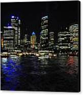 Sydney Harbour Skyline Canvas Print by Jacques Van Niekerk