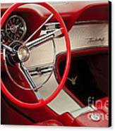 T-bird Interior Canvas Print by Dennis Hedberg